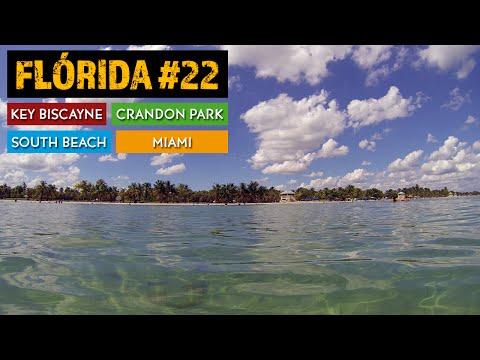 Praia em Miami, Key Biscayne, Flórida 22