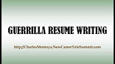guerrilla resume review youtube