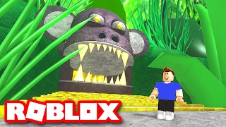 ESCAPE DA JUNGLE NO ROBLOX (ROBLOX ESCAPE THE JUNGLE OBBY)