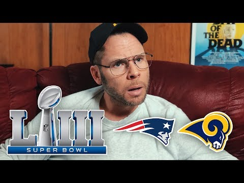 Dad Reacts to Super Bowl LIII Patriots vs Rams
