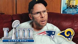 Dad Reacts to Super Bowl LIII Patriots vs Rams