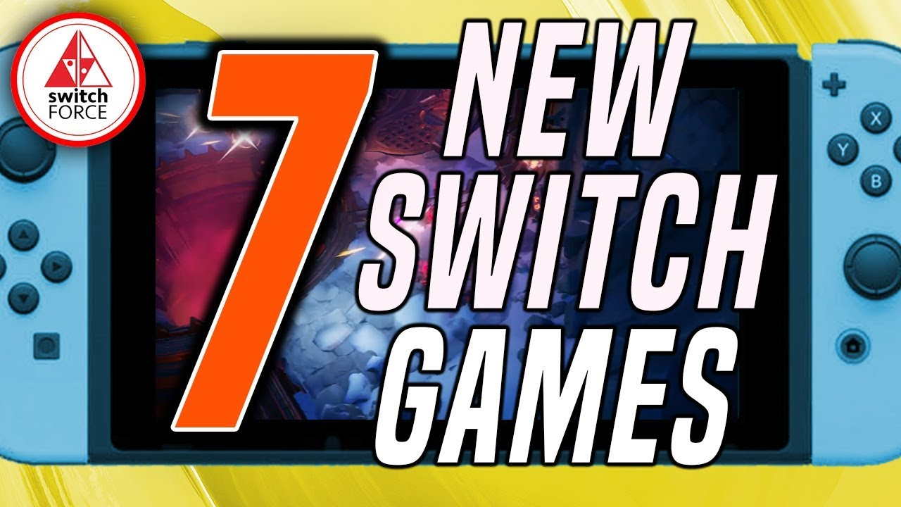 7 New Switch Games Just Announced New Nintendo Switch