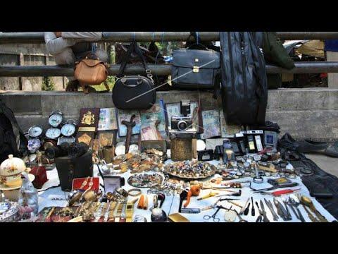 Pasar Harta Karun Jembatan Item Jakarta Timur // Black Treasure trove Market East Jakarta