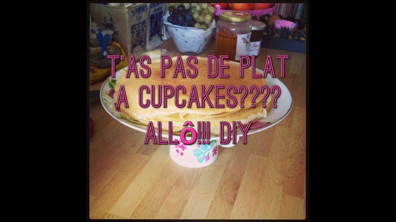 Diy comment faire un pr sentoir cupcakes facile et pas - Presentoir a cupcake pas cher ...