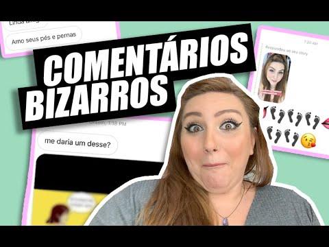 REAGINDO A COMENTÁRIOS BIZARROS | COMO FOI SAIR NO INSTAGRAM