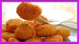 Testando a Receita Nuggets Feito em Casa