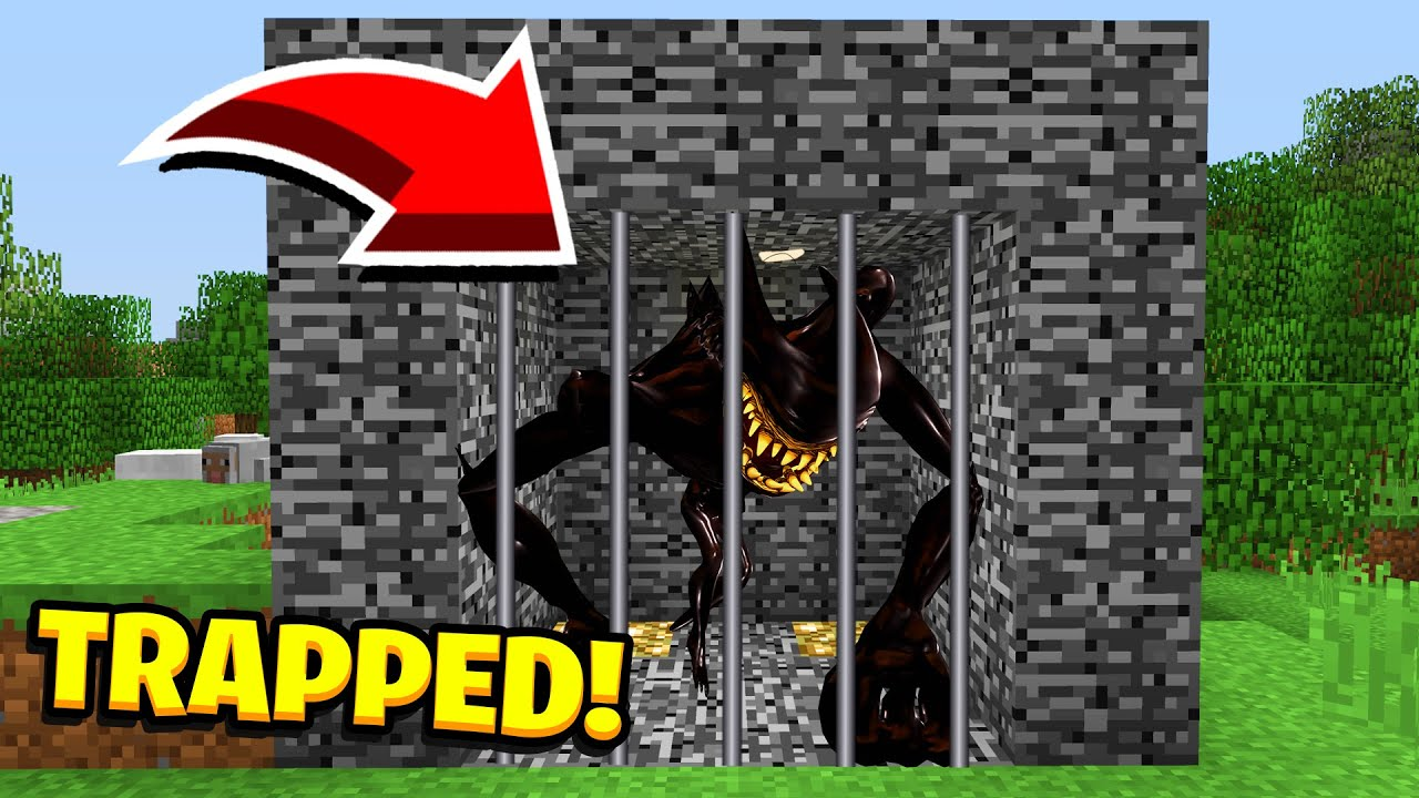 Minecraft : WE TRAPPED BEAST BENDY! (Ps3/Xbox360/PS4/XboxOne/PE/MCPE)