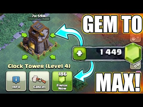 GEM TO UPGRADE CLOCK TOWER IN BH 5 ; WHAT'S NEW? | CHECK OUT GUYS