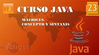 Curso Java  Arrays I. Vídeo 23