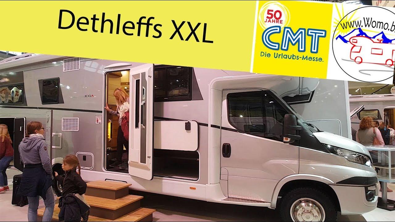 CMT - Dethleffs Globetrotter XXL - der neue Dicke vom Erfinder des  Wohnwagens