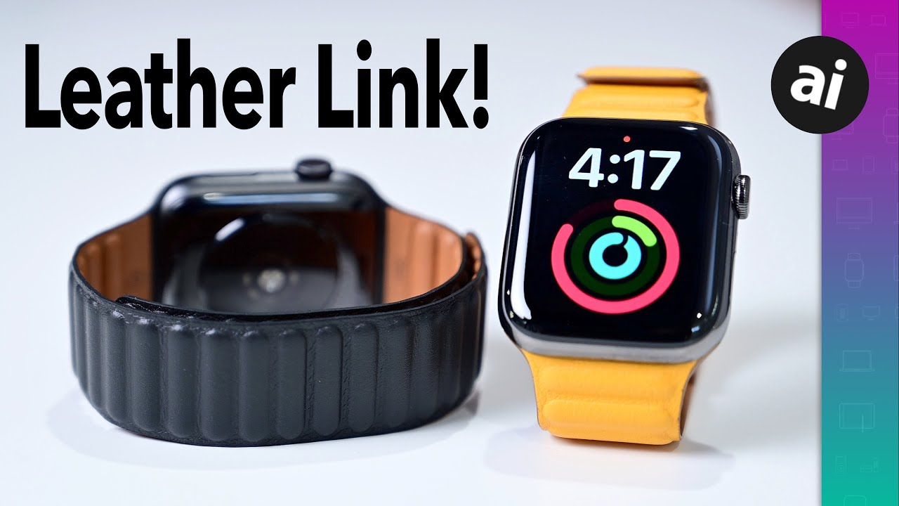 Review: The new Leather Link Apple Watch band is a great premium choice