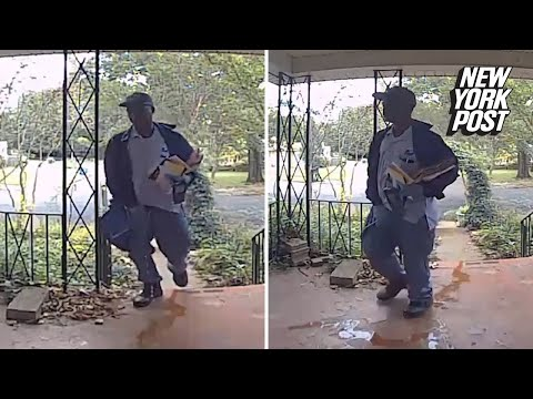 Mailman puts the pee in USPS