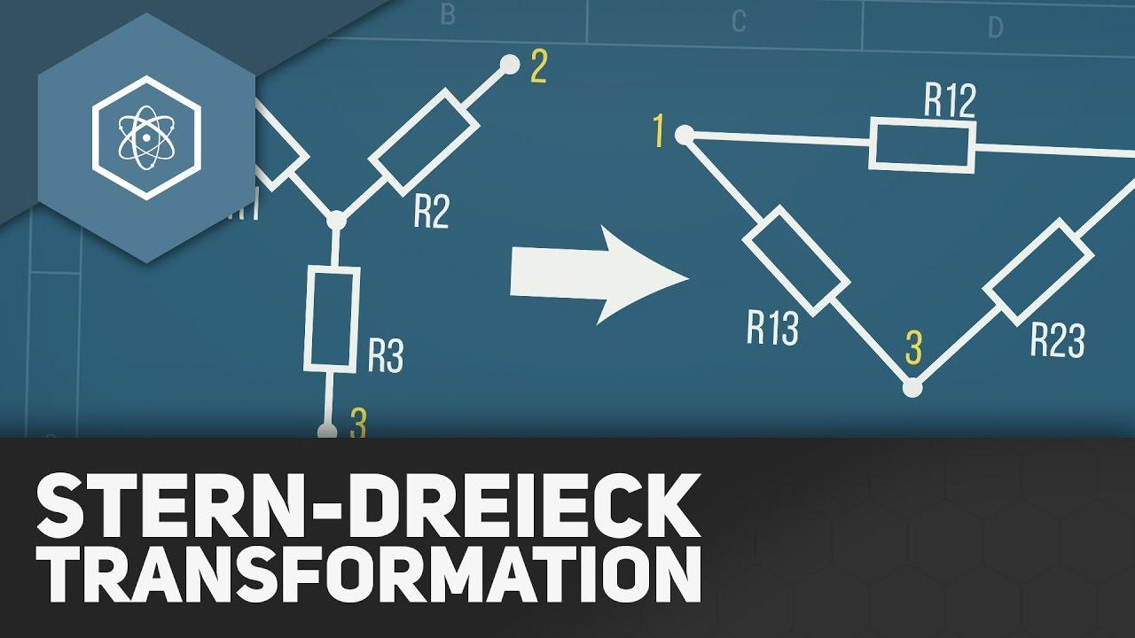 Stern-Dreieck-Transformation - Netzwerkanalyse Studium ○ Gehe auf ...