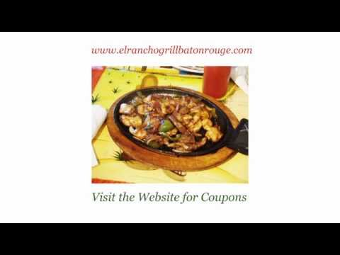 Welcome to EL Rancho Mexican Grill and Restaurant - Baton Rouge, LA
