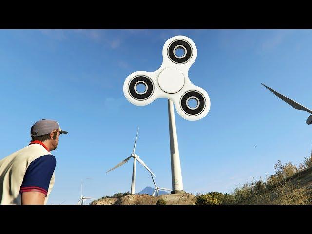 GERAAKT DOOR ENORME FIDGET SPINNER - GTA Online: Races