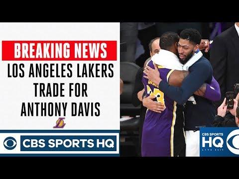 BREAKING NEWS: Lakers trade Lonzo, Ingram, Hart, picks to NOLA for Anthony Davis | CBS Sports HQ