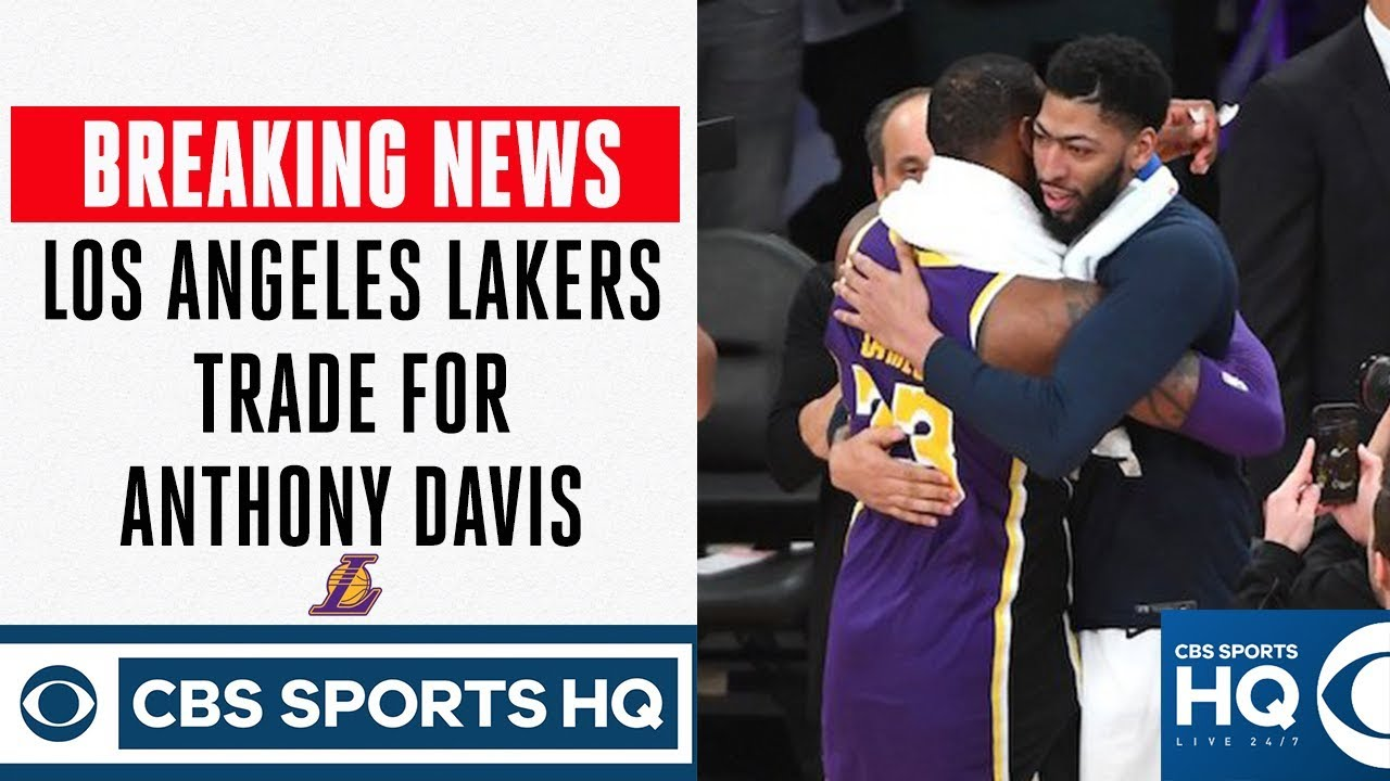 Report: Pelicans agree to trade Anthony Davis to Lakers