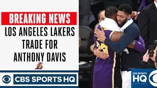 BREAKING NEWS: Lakers trade Lonzo, Ingram, Hart, picks to NOLA for Anthony Davis | CBS Sports HQ