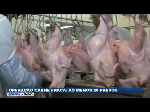 Carne Fraca: Megaoperação da PF prende 20 pessoas