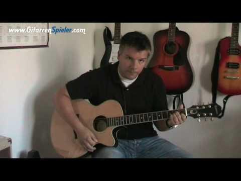 SV-005 • Lady in black - (Uriah Heep) Anfänger Lektion für Gitarre