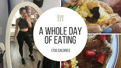 A Whole Day of Eating- 1700 Calories