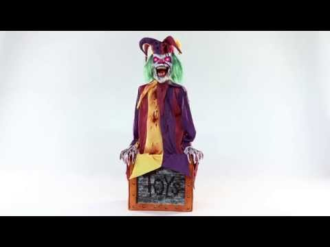 Chester The Jester Spirit Halloween Youtube