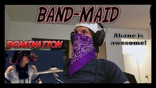 BAND-MAID - Domination | Reaction