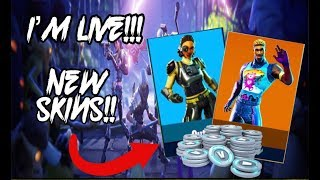NEW SKINS!!!!! (Fortnite Battle Royale)