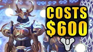 Destiny 2: It can Cost up to $600 to get all Items from The Dawning!