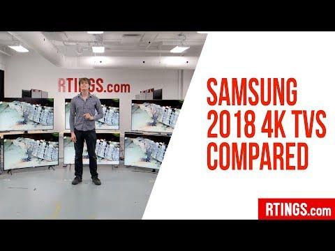 All Samsung 2018 4k TVs Compared - RTINGS.com
