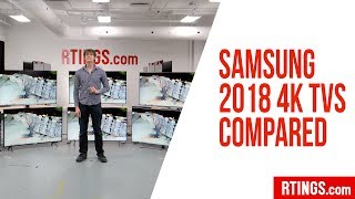 All Samsung 2018 4k TVs Compared - RTINGS.com