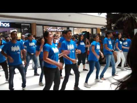 Flash Mob @ Forum Mall Bangalore