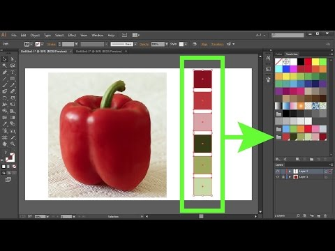 How To Create Custom Color Swatches In Adobe Illustrator