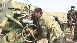 Армия Сирии наступает на боевиков ИГИЛ по нескольким направлениям.26.10.15.Новости Сирии сегодня