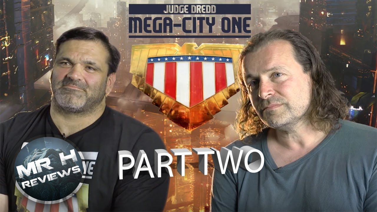 Dredd TV Show Interview (Part Two)