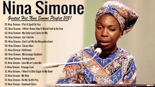 Nina Simone Greatest Hits -  Best Songs Nina Simone Playlist 2021