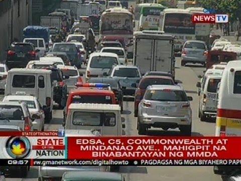 SONA: Ilang paputang probinsiya, maagang umalis sa Metro Manila para iwas-traffic
