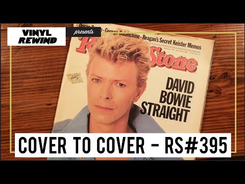 David Bowie in Rolling Stone #395 - Cover To Cover | Vinyl Rewind