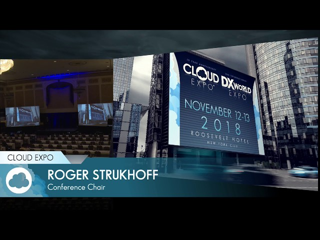 Session with Roger Strukhoff (Cloud Expo Day 1: 8:00am)