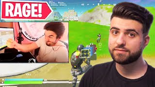 Reacting to EXTREME Fortnite Rage...