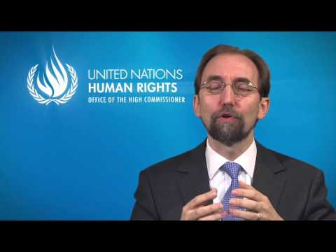 High Commissioner message   Human Rights Day 2015