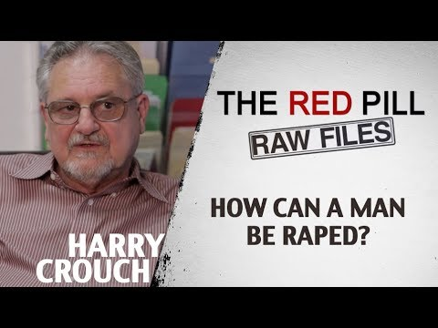 How can a man be raped? | Harry Crouch #RPRF