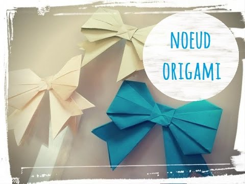 tuto origami noeud papillon. Black Bedroom Furniture Sets. Home Design Ideas