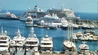 Monaco - Home of Luxury Cars & Mega Yachts