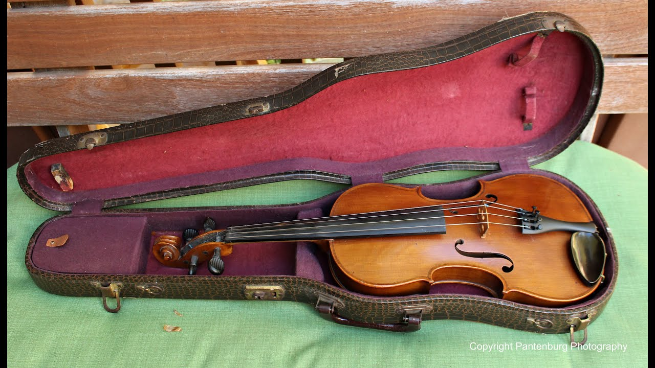 Check out how my new old violin sounds playing old time music