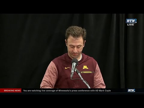 Richard Pitino Discusses Reggie Lynch Suspension