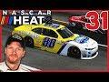 RACING FOR JUNIOR! |Xfinity Series Hot Seat| NASCAR Heat 2 Career Mode S2 Episode 31