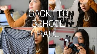 HUGE BACK TO SCHOOL CLOTHING HAUL (TRY ON) Thumbnail