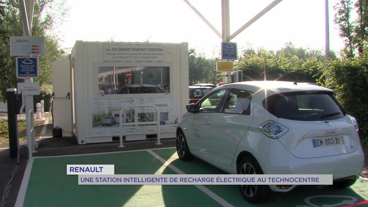 Yvelines | Renault : Une station intelligente de recharge électrique au Technocentre