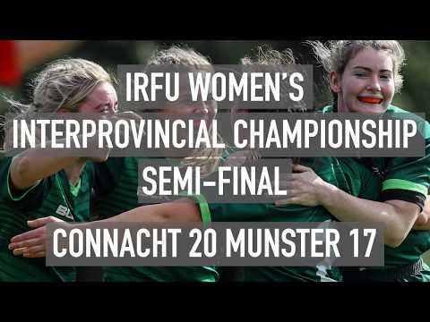 Connacht 20 Munster 17: IRFU Women's Interprovincial Championship Semi-Final